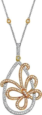 Simon g butterfly pendant with diamonds sg lp3815 view photos audiocablefo