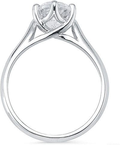 rings engagement palladium ring solitaire in trellis