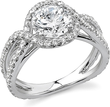 micro k side ring vanna diamond pave rings halo engagement