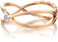 Tacori 18k Rose Gold Trellis Ring
