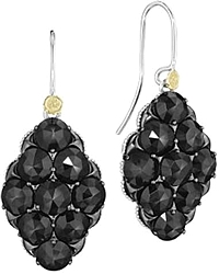 Tacori 18K925 Black Onyx Earrings