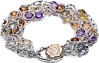 Tacori 18K925 Multi-Color Sterling Bracelet