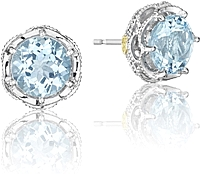 Tacori 18K925 Topaz Stud Earrings