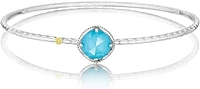Tacori 18K925 Turquoise Bangle