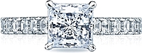 Tacori Asscher Cut Diamond Engagement Ring