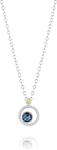 Tacori Blue Topaz Necklace