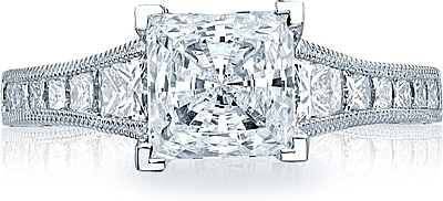 Princess Cut Engagement Rings: Settings