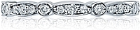 Tacori Crescent Diamond Wedding Band