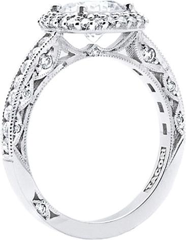 tacori cushion double halo diamond engagement ring ht2523cu