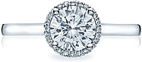 Tacori Halo Diamond Engagement Ring