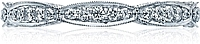 Tacori Marquise Shaped Pave Diamond Band