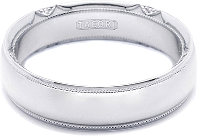 Tacori Mens Wedding Band 60mm 6161
