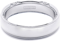 Tacori Mens Wedding Band 6.0mm