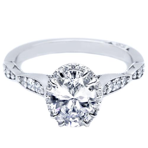tacori pave diamond engagement ring 39 2ov