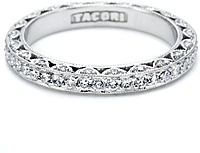 Tacori Pave Diamond Eternity Band 3/4 ct tw.