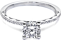 Tacori Pave Diamond Setting