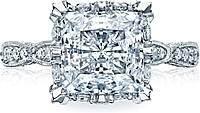 Tacori RoyalT Pave Princess Diamond Setting