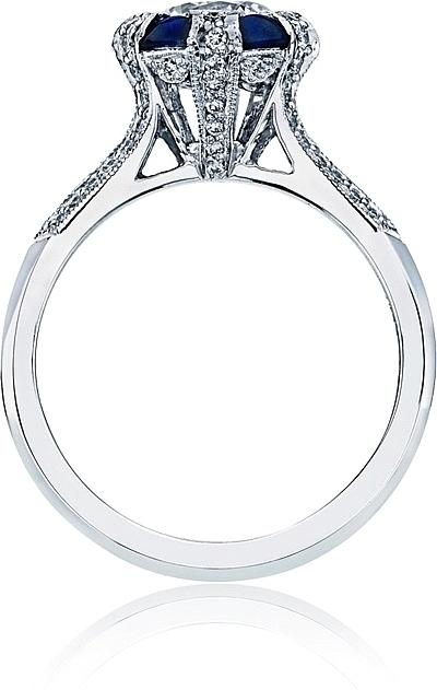 Tacori Crescent Wedding Band 94 Good Tacori engagement rings with