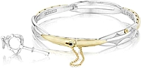 Tacori Sterling Silver & 18K Yellow Gold Promise Bracelet