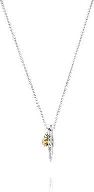 Tacori Sterling Silver Diamond Pendant