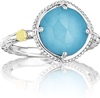 Tacori Sterling Silver Turquoise Ring