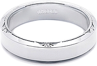 Tacori Mens Wedding Band With Satin Finish 60mm 626S