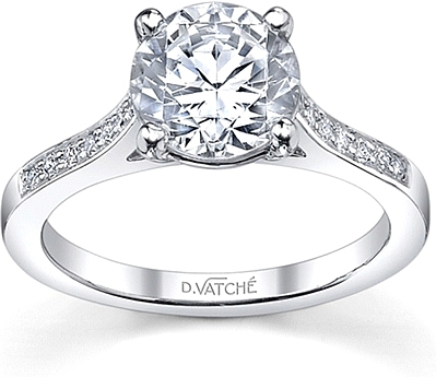 cut diamonds in french round v diamond rings set with ring jp platinum double engagement surprise