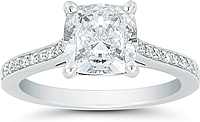 Vatche Pave Diamond Engagement Ring