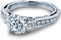 Verragio 3-Stone Diamond Engagement Ring