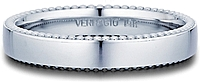 Verragio Beaded Men's Wedding Band-4mm