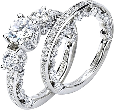in detailed halo ctw french band set engagement rings ak diamond cut round ring platinum