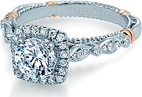 Verragio Halo Diamond Engagement Ring