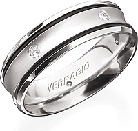 Verragio Men's Diamond Wedding Band