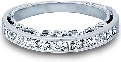 Verragio Princess Channel Set Diamond Wedding Band INS 7064PW