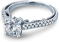 Verragio Round Brilliant cut Diamond Engagement Ring