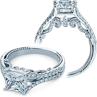 Verragio Split Shank Engagement Ring