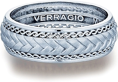 verragio woven mens wedding band mv 7037