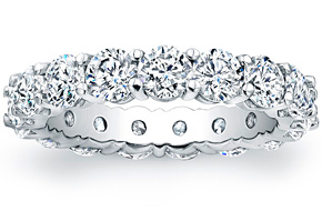 Round Brilliant Cut Eternity Ring - 0.20ct