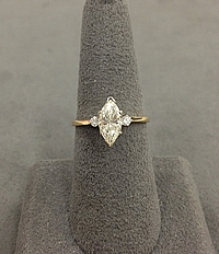 1.07ct J/VS2 Marquise Diamond Engagement Ring