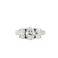 1.12ct GIA E/SI1 Oval Diamond Engagement Ring