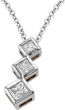 18k white gold 75ct 3 stone diamond pendant scsp907b view photos aloadofball Choice Image