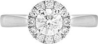 .50ct G-H/SI2 Round Brilliant Cut Diamond Engagement Ring