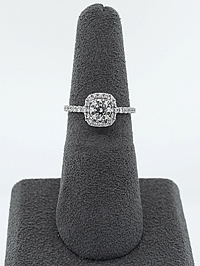 .61ct GIA I/SI1 Round Brilliant Cut Diamond Engagement Ring
