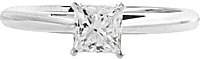 .71ct AGS H/SI2 Princess Cut Diamond Engagement Ring