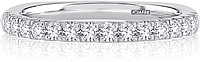 A.Jaffe Pave Set Diamond Wedding Band