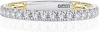 A.Jaffe Pave Set Round Brilliant Cut Diamond Wedding Band