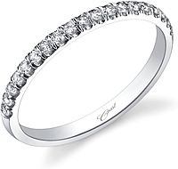 Coast Diamond Pave Diamond Wedding Band