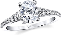 Coast Graduated Diamond Engagement Ring