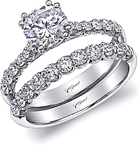 Coast Prong Set Diamond Engagement Ring