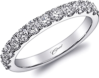 Coast Prong Set Diamond Wedding Band